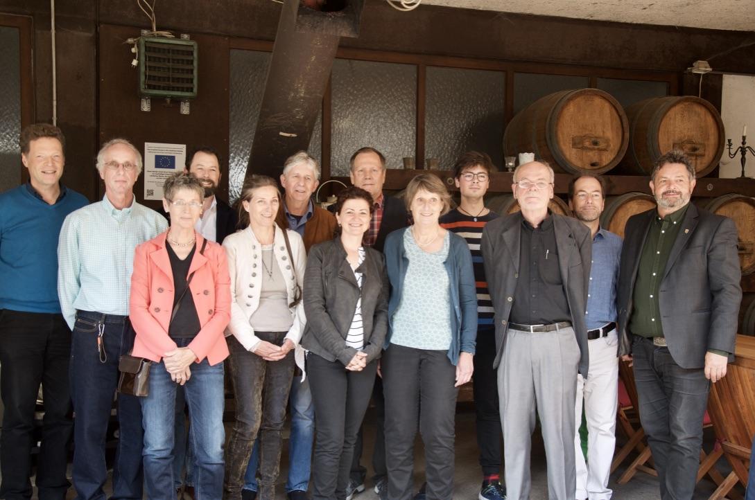 Heitersheimer Kandidat*innen stellen sich im Weingut Zähringer vor