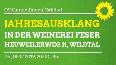 Jahresausklang OV Gundelfingen-Wildtal
