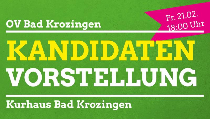 Kandidatenvorstellung in Bad Krozingen
