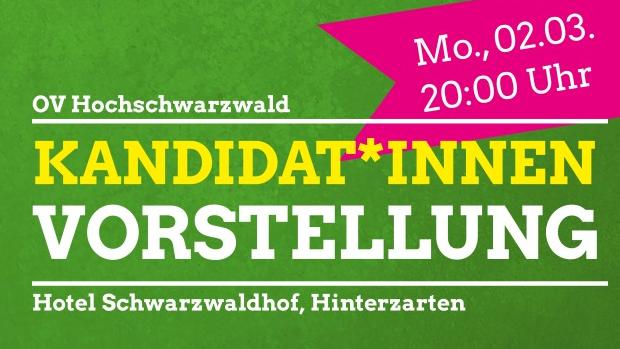 Kandidat*innenvorstellung im Hochschwarzwald