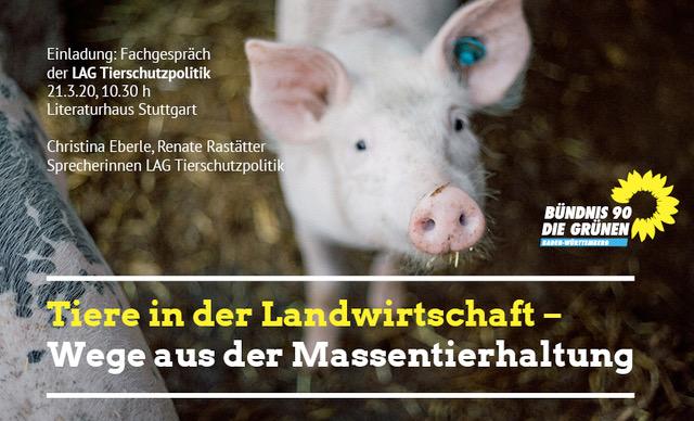 Abgesagt: Tiere in der Landwirtschaft – Wege aus der Massentierhaltung