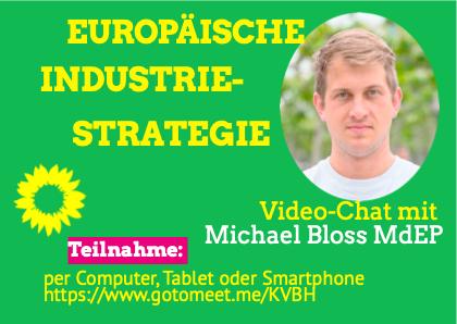 Video-Chat mit Michael Bloss MdEP