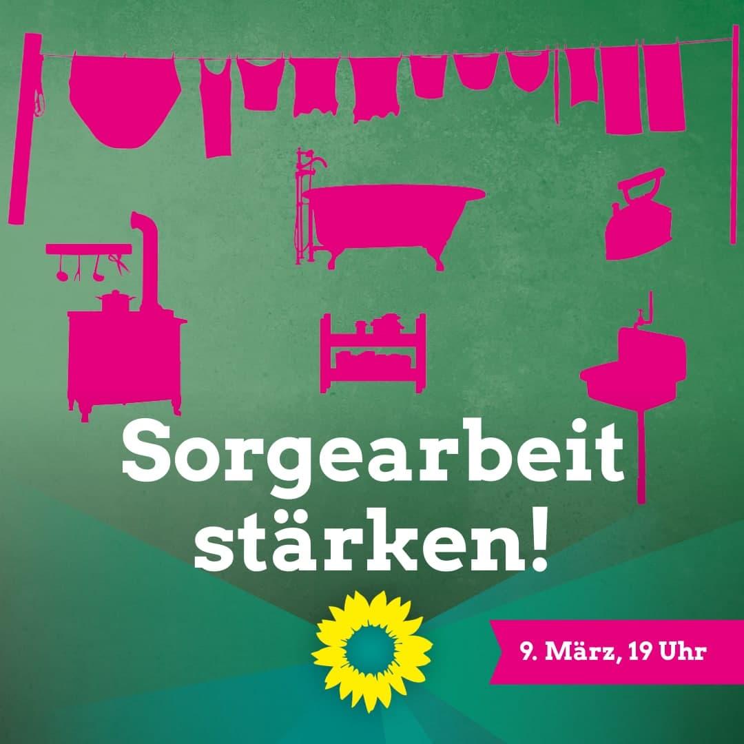 """Sorge-Arbeit stärken"" mit Daniela Evers, Nadyne Saint-Cast, Prof. Dr. Uta Meier-Gräwe & Dorothea Simpfendörfer"