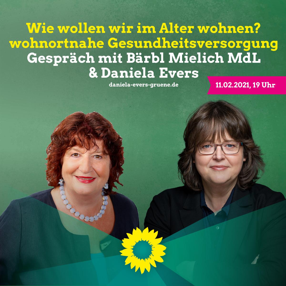 Pflege & Gesundheit mit Bärbl Mielich und Daniela Evers