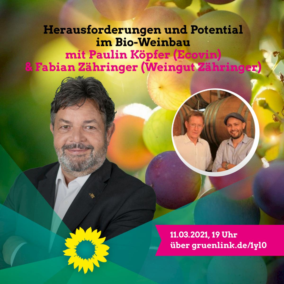 Reinhold Pix: Herausforderungen und Potenzial im Bio-Weinbau