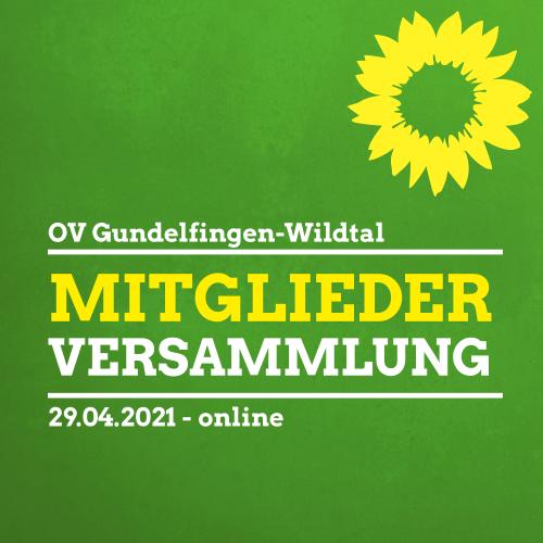 Mitgliederversammlung OV Gundelfingen-Wildtal