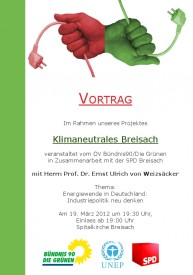Klimaneutrales Breisach Flyer II neu