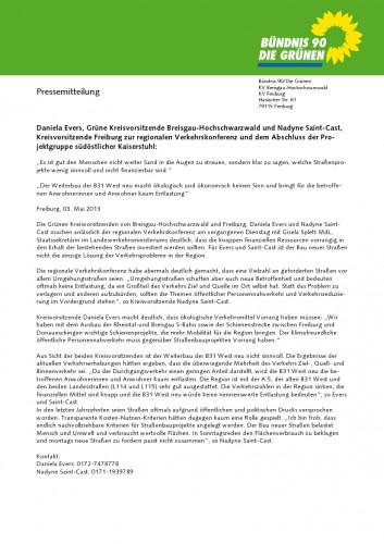 Pressemitteilung Verkehrspolitik