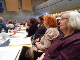aufmerksame Delegierte