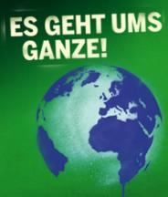 Plakat »Es geht ums Ganze« – Wahl 2009