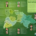 Hier treten wir an: Grüne Kandidatinnen und Kandidaten für die Kreistagswahl 2014